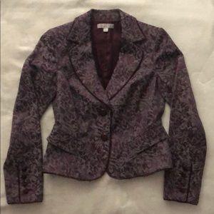 Fully lined elegant paisley patterned jacket